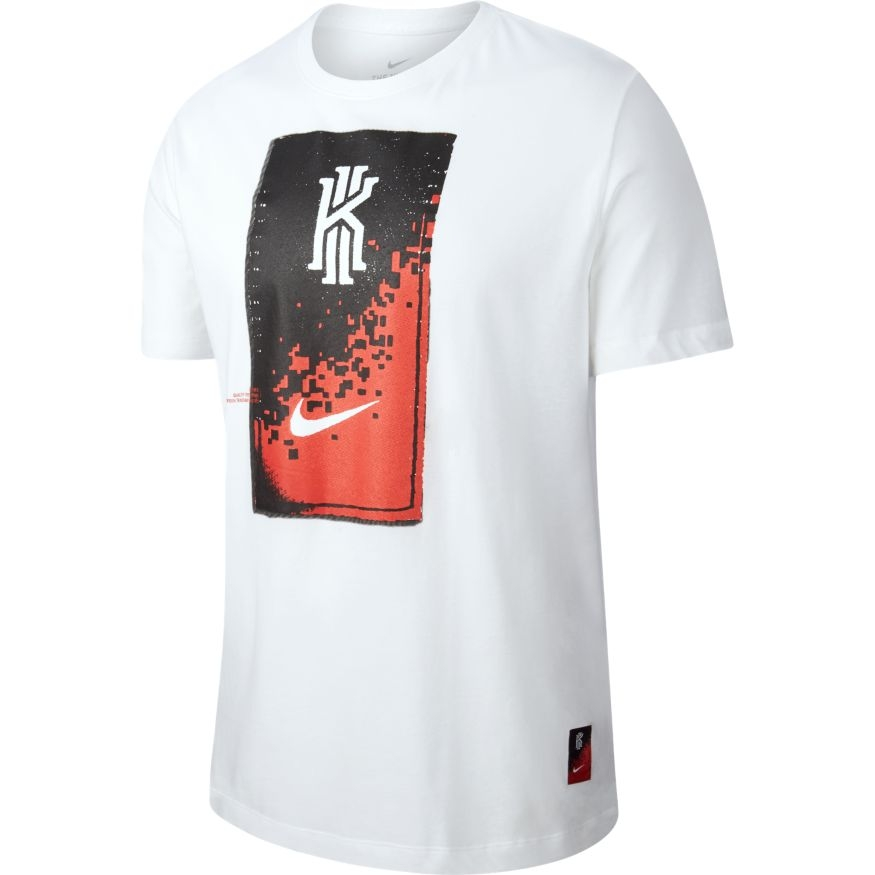 T SHIRT NIKE KYRIE DRY DF WHT | Basket Connection