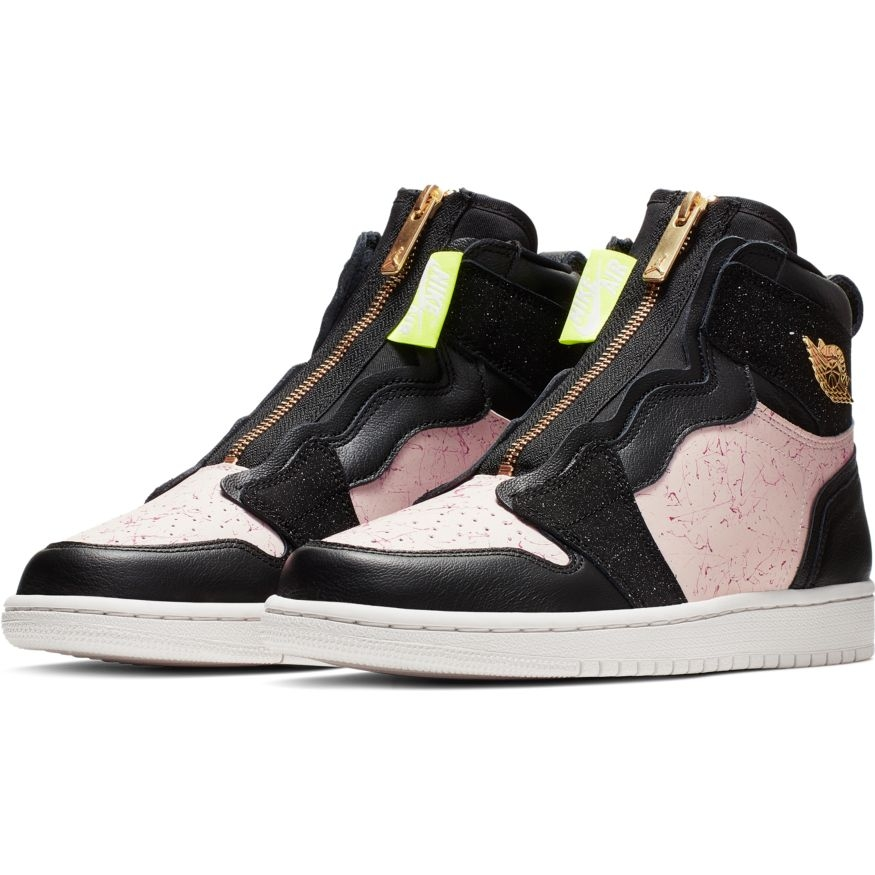 AIR JORDAN 1 HIGH ZIP - BLK/GOLD