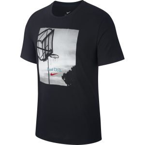 T SHIRT NIKE DRY HOOP JDI BLK | Basket Connection