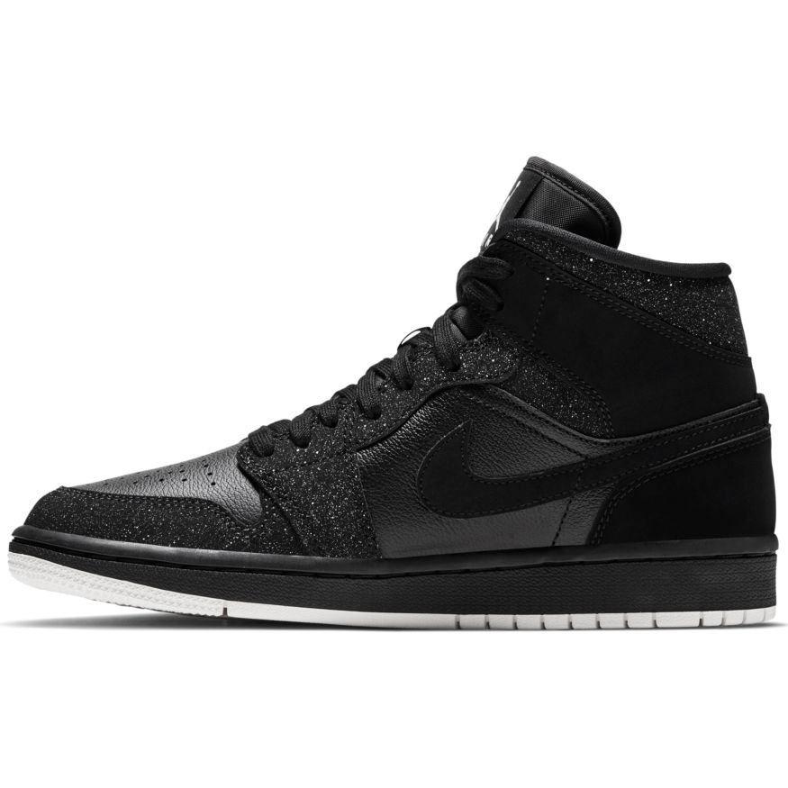 usa cheap sale detailed images pick up AIR JORDAN 1 MID FEMME - BLK | Basket Connection