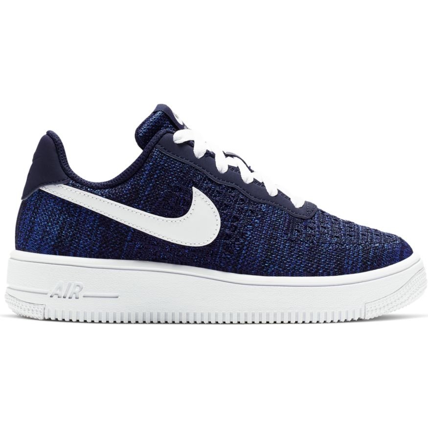 NIKE AIR FORCE 1 FLYKNIT 2.0 ENFANT NAVY | Basket Connection