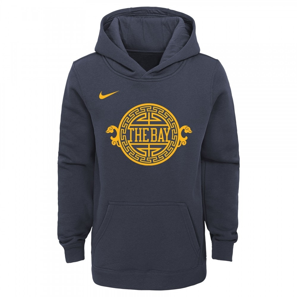 SWEAT A CAPUCHE NIKE NBA ENFANT CITY EDITION GOLDEN STATES