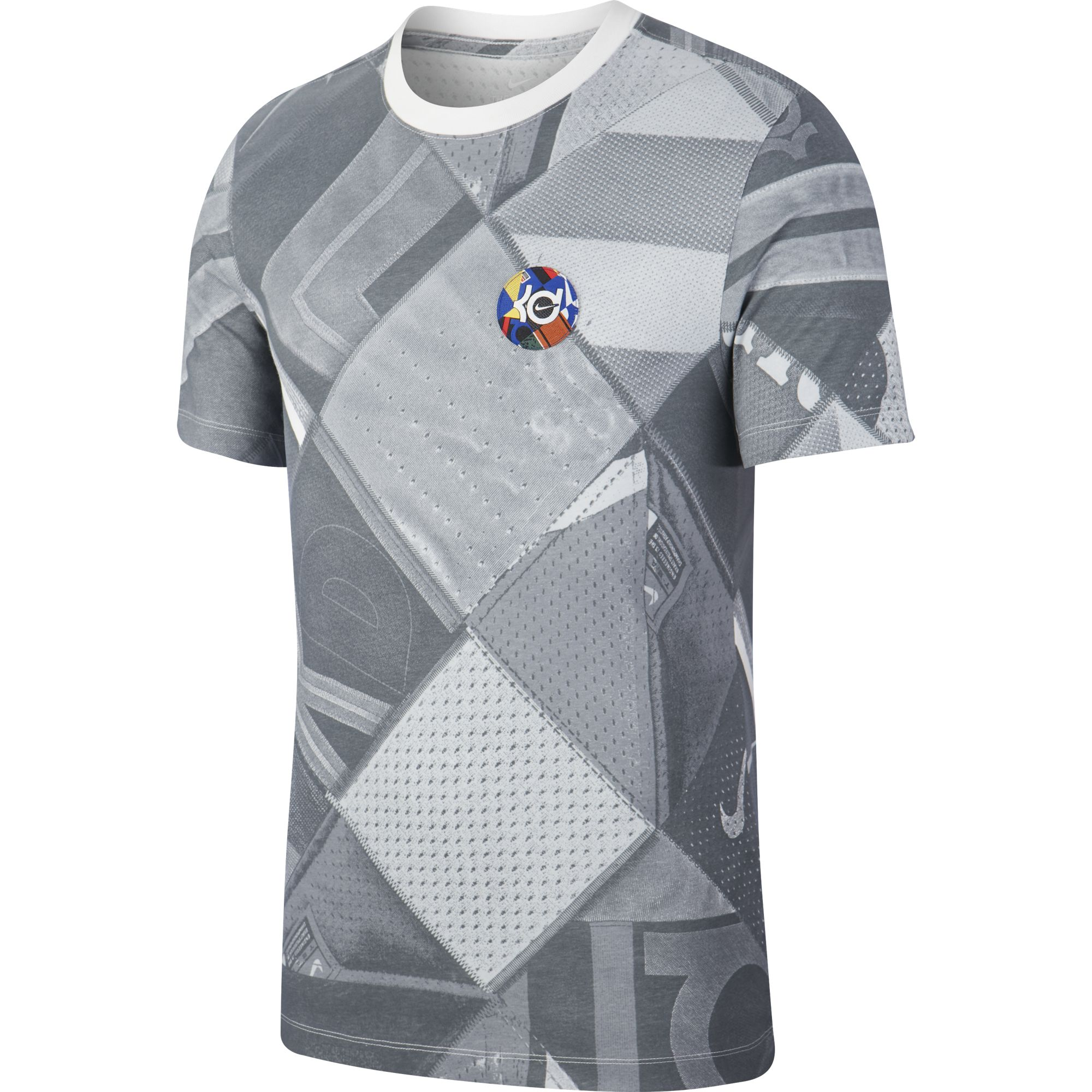 T SHIRT NIKE DRY KD ART GREY