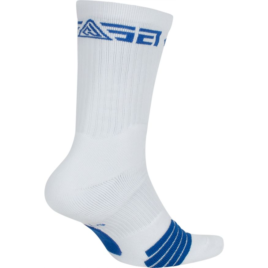 hot product fresh styles genuine shoes CHAUSSETTES NIKE ELITE GIANNIS CREW - WHT