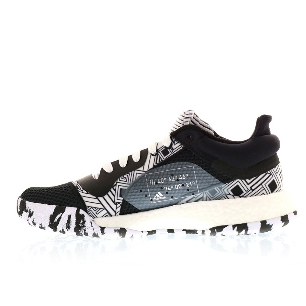 ADIDAS MARQUEE BOOST LOW BLK WHT