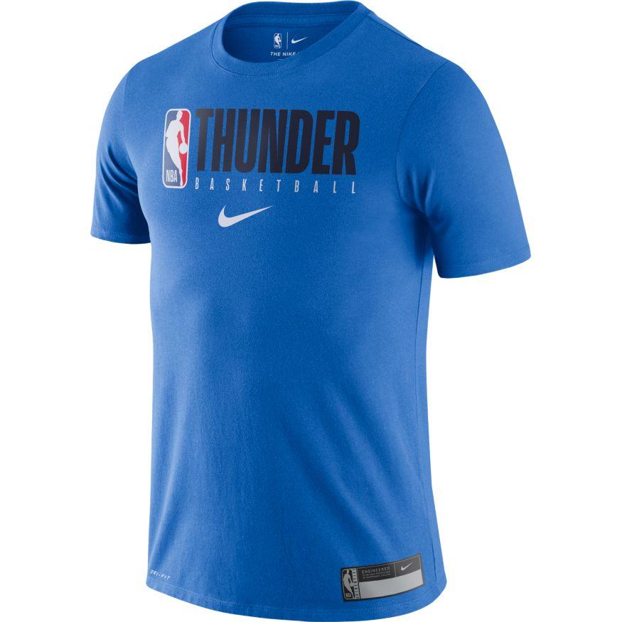 T SHIRT NIKE NBA PRACTICE GX OKLAHOMA CITY THUNDER