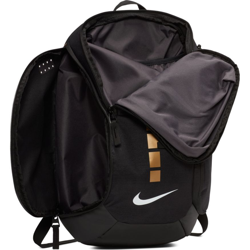 SAC A DOS NIKE HOOPS ELITE SMALL BLK GOLD | Basket Connection