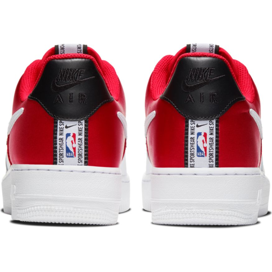 NIKE AIR FORCE 1 '07 LV8 NBA RED WHT | Basket Connection