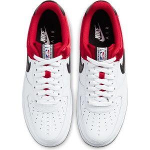 NIKE AIR FORCE 1 '07 LV8 NBA RED WHT