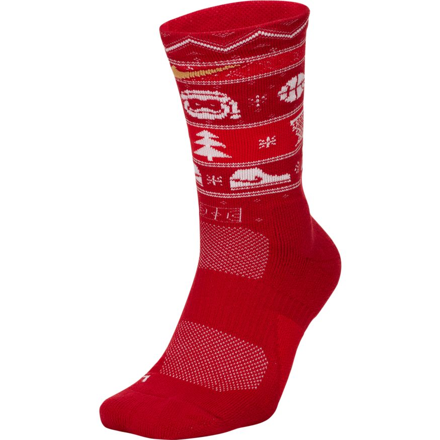 exclusive range los angeles latest CHAUSSETTES NIKE ELITE XMAS - RED