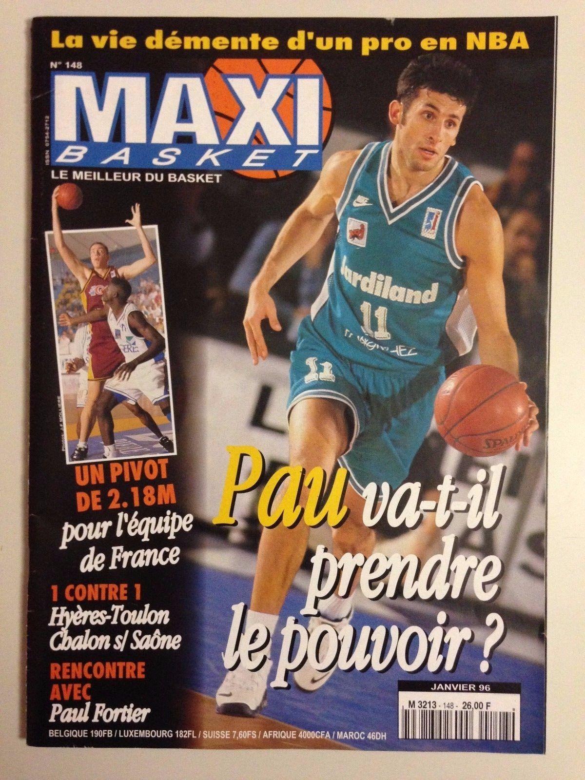 Les premiers pas de Basket Co via la revue Maxi basket
