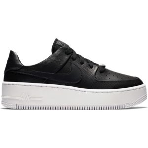 NIKE AIR FORCE 1 SAGE LOW FEMME BLK | Basket Connection